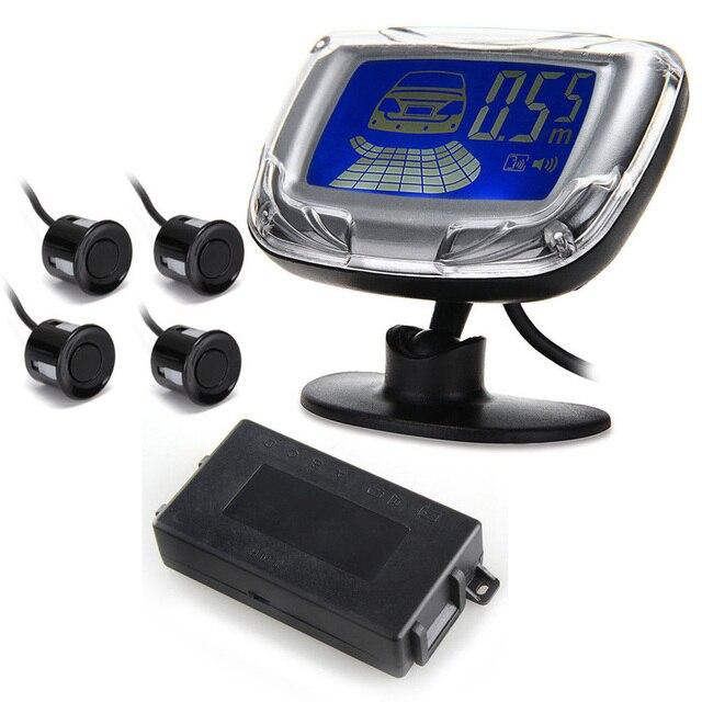 hot sale Car Auto Sound Alert Alarm Reverse Backup Radar Kit 4 Parking Sensor Black Alarm