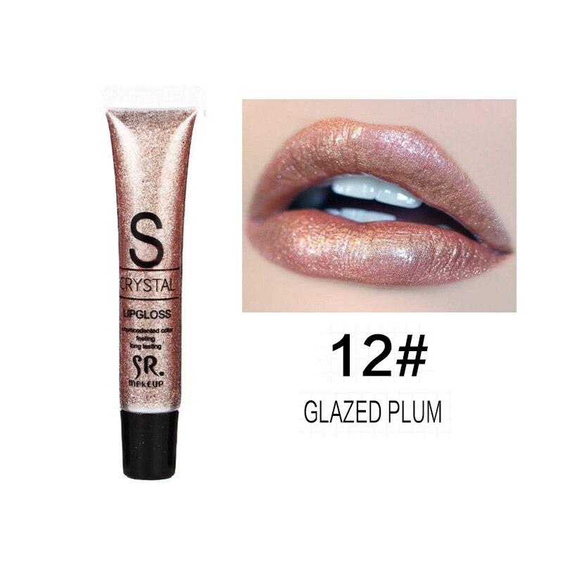 Long Lasting Moisturizer Glitter Lip Gloss 4