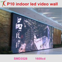 Cost-effective installation method of P10 indoor full color led video wall for meeting room,multi-media classroom
