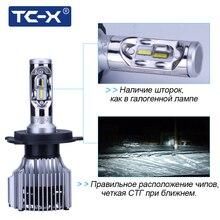 TC-X Кош диода H4 лампы светодиодный авто фары для Lada Granta автомобили лампочки диоды avtolampy лампа frete grátis светодиодный 12 вольт