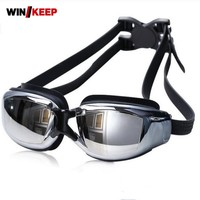 New Professional Piscina Glasses For Swimming Water Sport Fog Waterproof Protection Swim Pool Sea Swimming Goggles