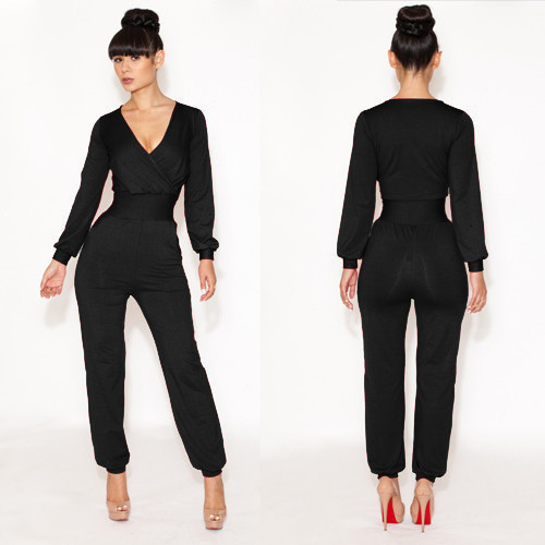 889fba7b3b5c 2014 new fashion sexy chic jumpsuits spring jumpsuit bandage red bule  jumpsuit A classy and elegant jumpsuit