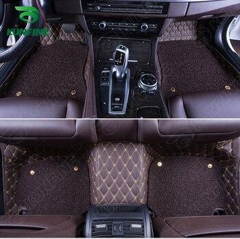 Top Quality 3D car floor mat for Citroen C4L foot mat car foot pad with Thermosol coil Pad 4 colors Left hand driver
