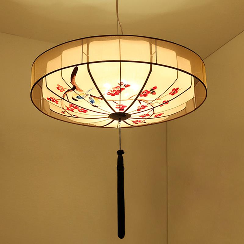New Chinese style pendant lights modern minimalist iron living room antique bedroom hand-painted dining room pendant lamps ZA 158cm big breast sex doll big ass realistic female sex robot dolls solid silicone love doll metal skeleton3 holes real vagina