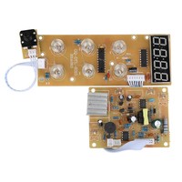 2200W 220V Circuit Board PCB with Electromagnetic Heating Control Panel for Electric Ceramic Heaters Electric Stove Parts|Induction Cooker Parts| |  -