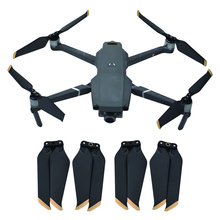 4 Pairs Propellers Foldable Noise-Reduction For DJI MAVIC 2 Pro Drone 8743 Low-Noise Quick Release Blades Propeller Lightweight