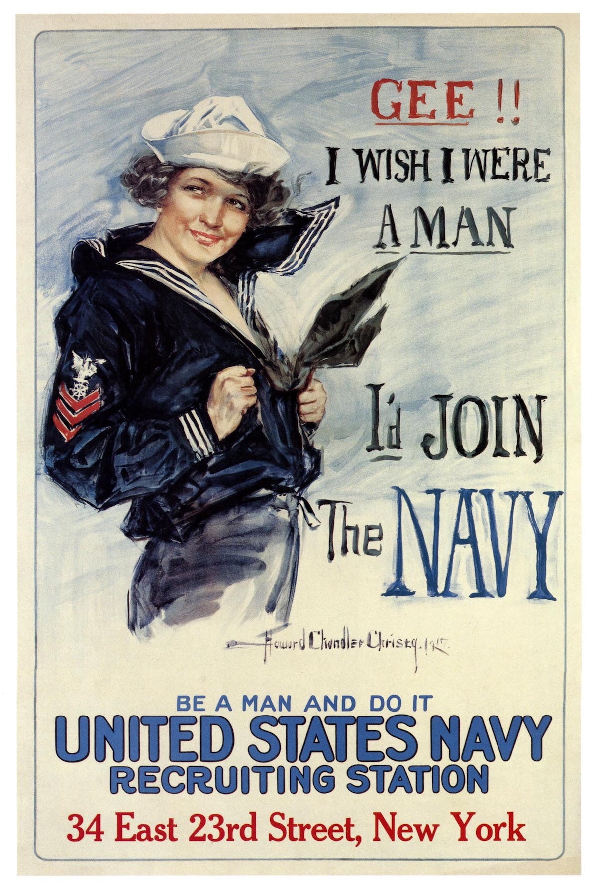 Vintage Advertising WW1 Poster Us Navy recruitment Classic Canvas Paintings  Vintage Wall Posters Stickers Home Decor Gift|Painting & Calligraphy| -  AliExpress