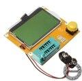 Mega328 LCR-T4 M328 LCR led Transistor Tester Diode Triode Capacitância ESR Medidor MOS PNP/NPN