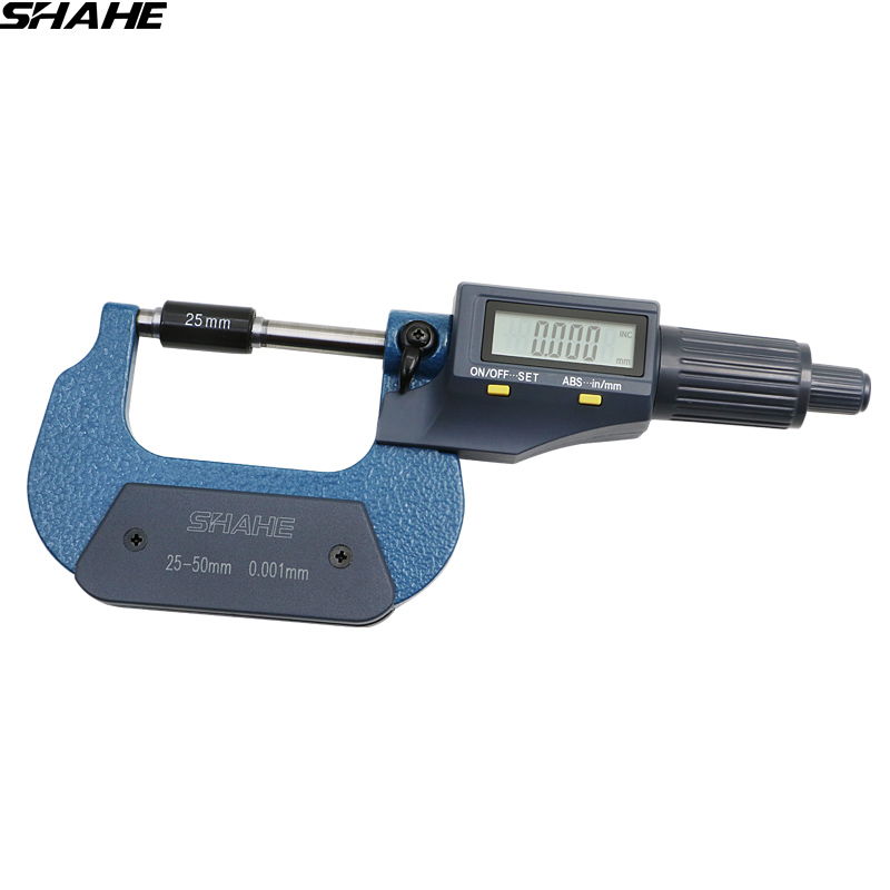 Digital Outside Micrometer 0.001 mm 25-50 mm electronic digital micrometer digital vernier caliper micrometer 21 22 22 5 23 23 5 24 canvas block head mannequin head weft wig display style styling manikin head cork inside