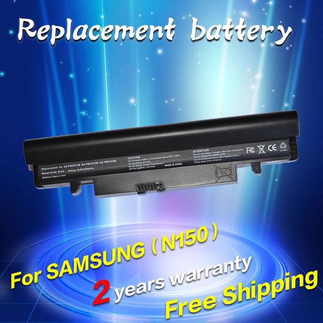 Bateria do portátil para samsung aa-pb2vc6b pb2vc6w pl2vc6b pl2vc6w jigu pb3vc6b pb3vc6w n218 n143 n145 n148 n150 n230