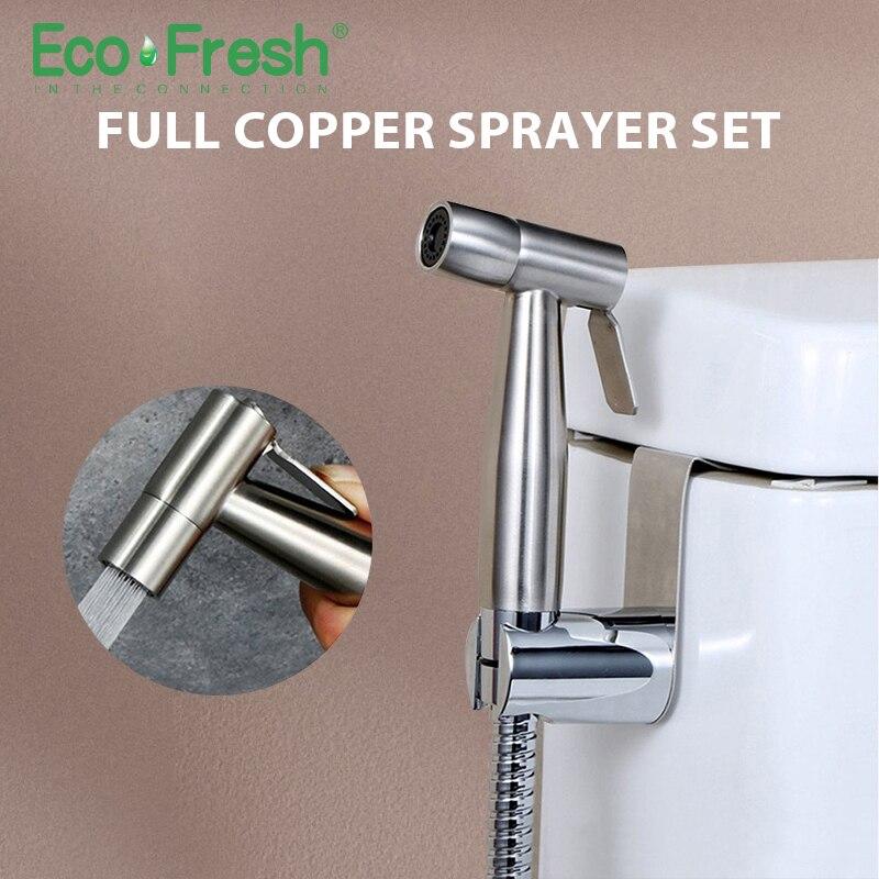 Ecofresh Bidets Bathroom Hand Shower Bidet Toilet Sprayer Hygienic