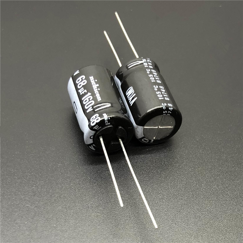 10pcs 68uF 160V NICHICON VY Series 12.5x20mm Wide Temperature Range 160V68uF Aluminum Electrolytic Capacitor