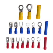 цена на 300Pcs Electrical Wire Terminals Assorted Insulated Crimp Connector Spade Set AWG 22-10