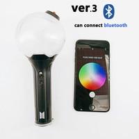 kPOP APP Bluetooth Lamp Stick ARMY Bomb VER.3 Lightstick Bangtan Boys Glowing Stick Concert Lamp Glow Lamp Lightstick