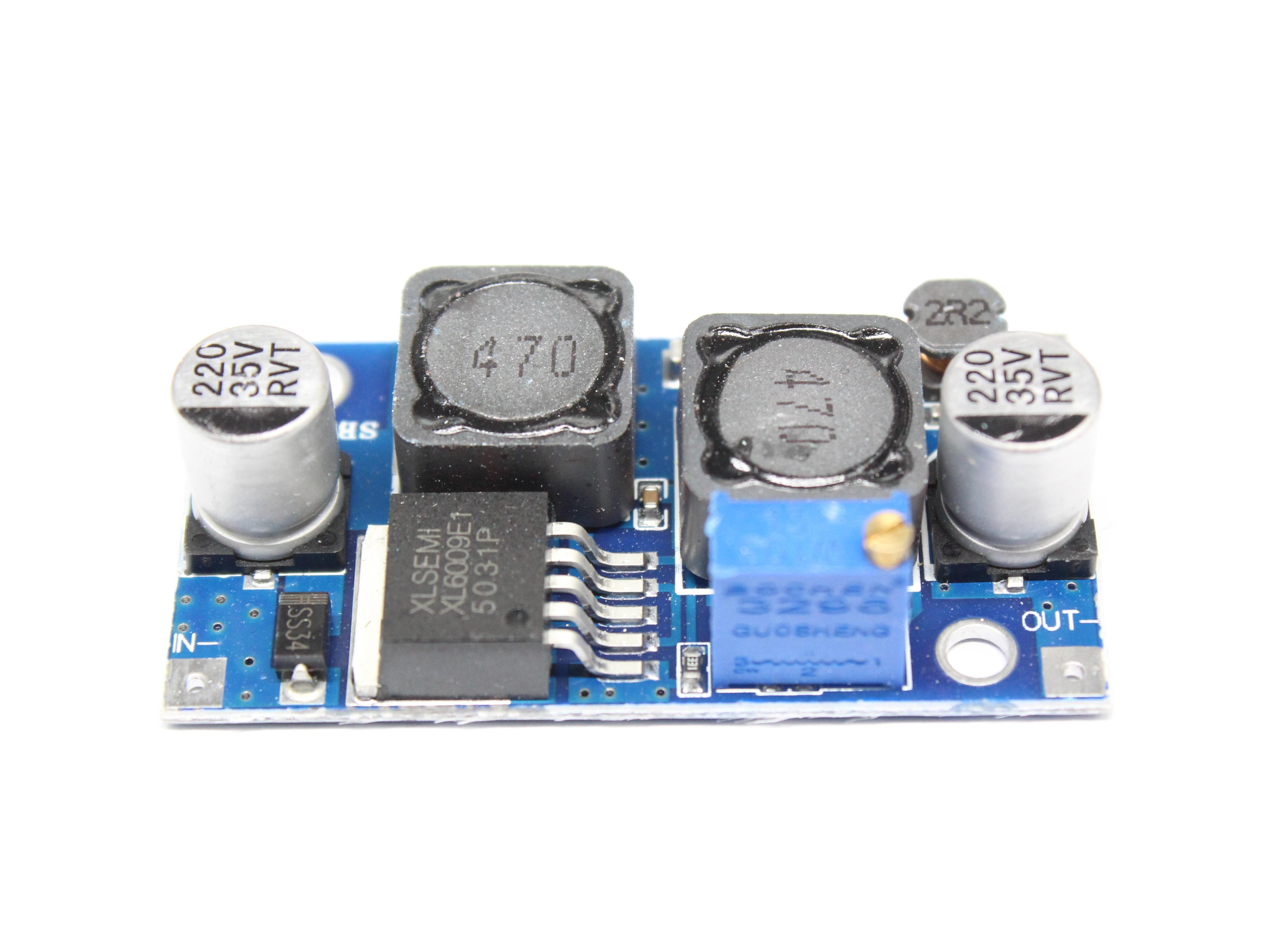 Image 3 - DC DC XL6009 Auto Boost Buck réglable abaisseur convertisseur Module solaire 1.25 36 V tension carte MOSFET commutateur DSN6000AUDCircuits intégrés   -