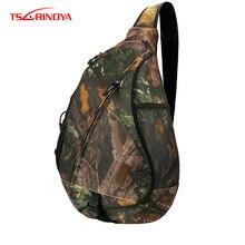 TSURINOYA Multifunctional Fishing Bag Waterproof Shoulder Fishing Bag Large Capacity Bolsa Back Breathable Fishing Tackle Bags