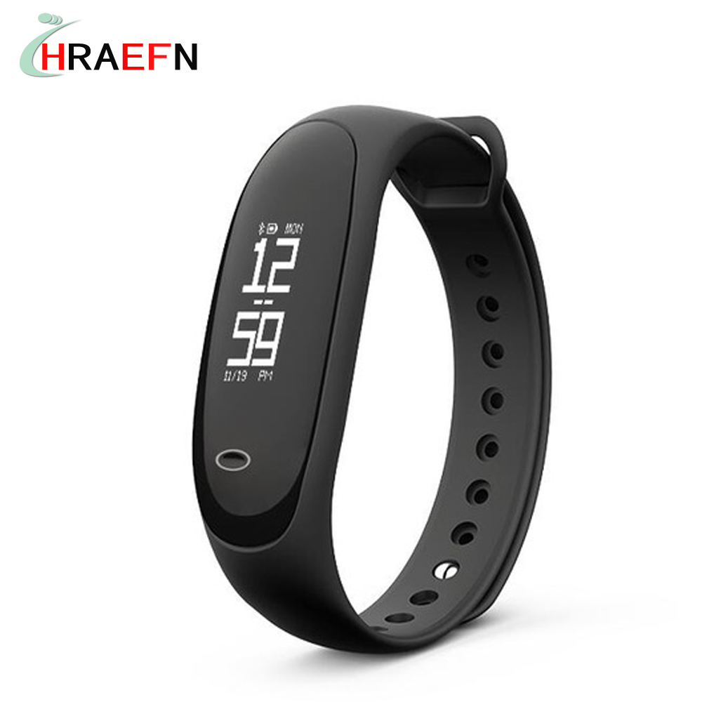 Smart band E26 SmartBand Pedometer Sleep Heart Rate Fitness Tracker Blood Pressure Bracelet For Andriod IOS