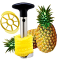 New Stainless Steel Fruit Pineapple Ananas Corer Slicers Peeler Parer Cutter Kitchen Easy Tool Supply