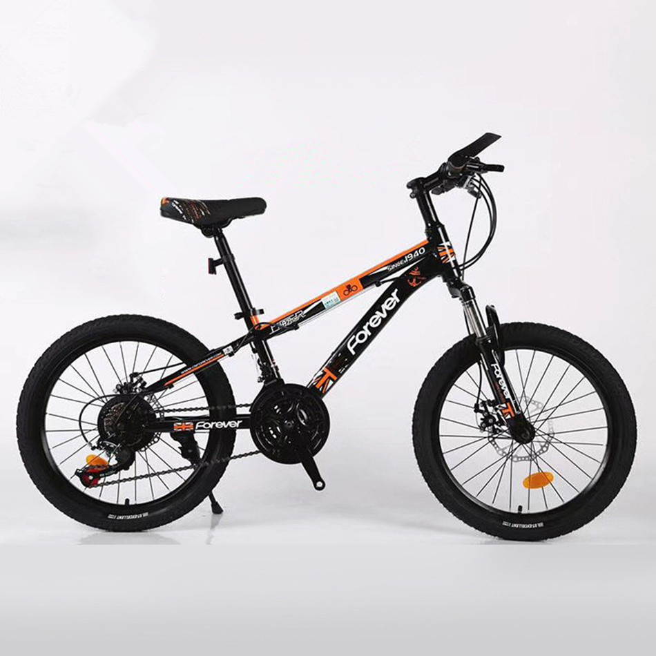 MTB Mountain <font><b>Bike</b></font> BMX High Carbon Steel 20 Inch Small Cyclone Shock Absorber Speed Bicycle image