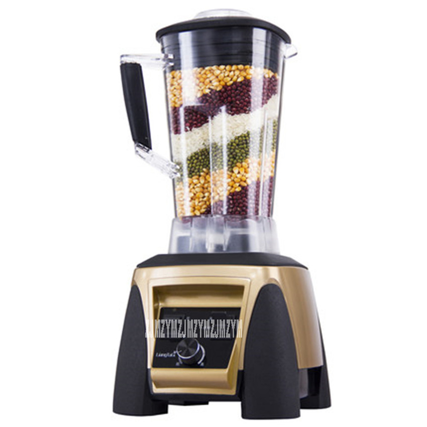 SH-998 2200W Heavy Duty Commercial Grade Blender Mixer Juicer High Power Food Processor Ice Smoothie Bar Fruit Blender 45000 rpm 2l heavy duty commercial grade juicer fruit blender mixer bpa 3 speed 2200w professional smoothies food mixer fruit processor