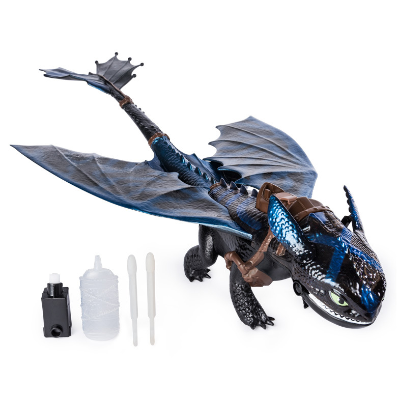 2019 How to Train Your Dragon 3 giant breathing Toothless Action figure Doll Toyless Toothless Toy