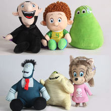 2019 New arrival Hotel Transylvania 2 Dracula Mavis Frank Dennis Jonathan Mummy Stuffed Soft Plush Toys Gift for Kids(China)