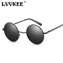 New Arrival Polarized Round Sunglasses Coating Retro Men Women Brand Designer Sun Glasses Driving Eyewear Mirror gafas de sol