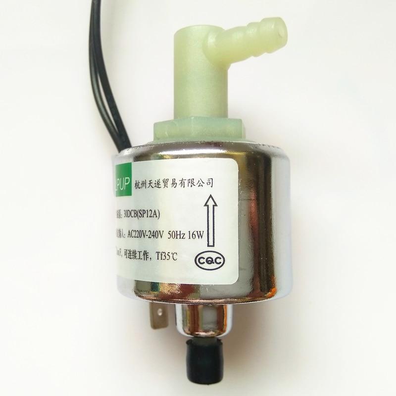 Miniatura modelo bomba magnética 30DCB (SP12A) energía AC220V230V240V50HZ16W