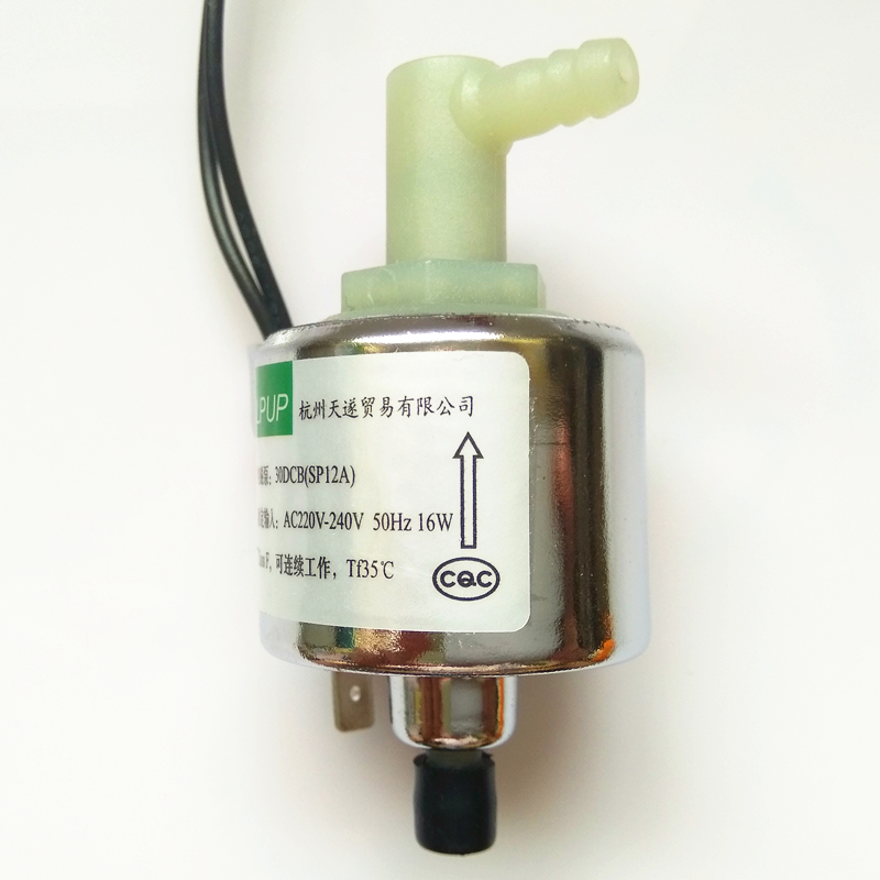 Miniature magnetic pump model 30DCB (SP12A) Power AC220V230V240V50HZ16W
