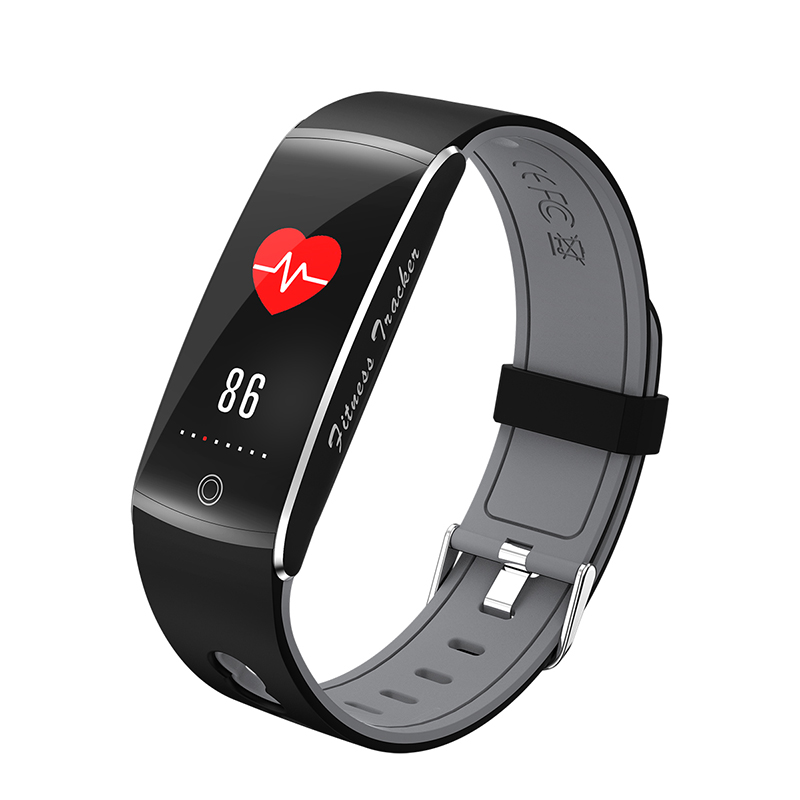 New F10 Bluetooth Smart Band Bracelet IP68 Waterproof Swim Heart Rate Monitor OLED Color Screen Passometer Smartband for Android