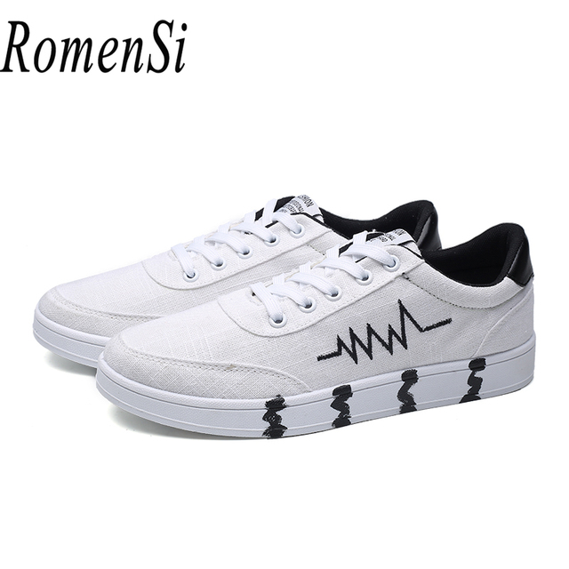 Men Casual Flats Shoes 2018 Spring New Breathable Walking Shoes