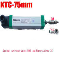 KTC 75MM 300mm Industry Universal Trolley electronic scale linear displacement, Ruler sensors , resistive ruler Level Measuring
