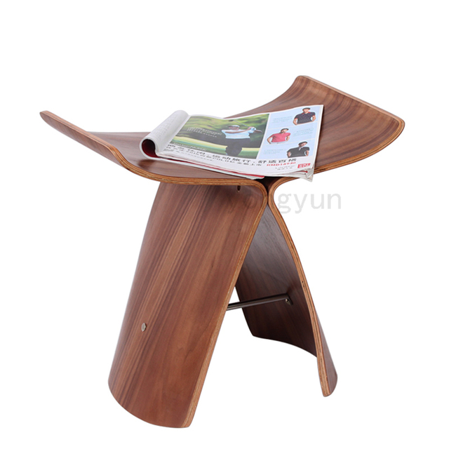 Prime Us 148 0 Free Shipping Loft Popular Stool Modern Design Wooden Leisure Stool Little Multi Function Stool Natural Walnut Color Living Room In Stools Gmtry Best Dining Table And Chair Ideas Images Gmtryco