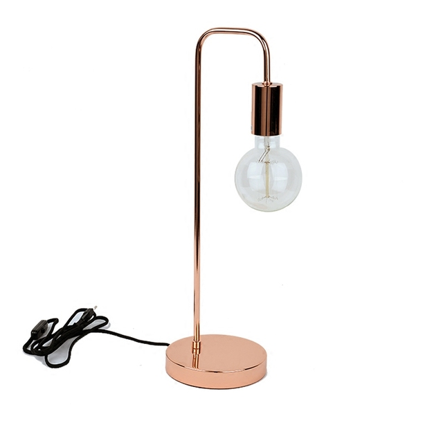 modern minimalist decorative desk lamp creative learning rose gold table  lamp for home decoration 6a7027b38