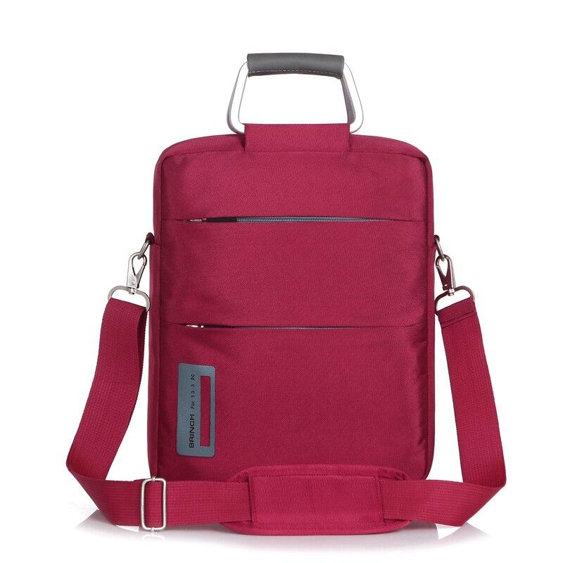 BRINCH Laptop bag 11 6 inch 12 5 inch vertical paragraph men and women shoulder notebook