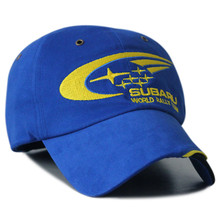 Subaru Racing Baseball Cotton Snapback Casual
