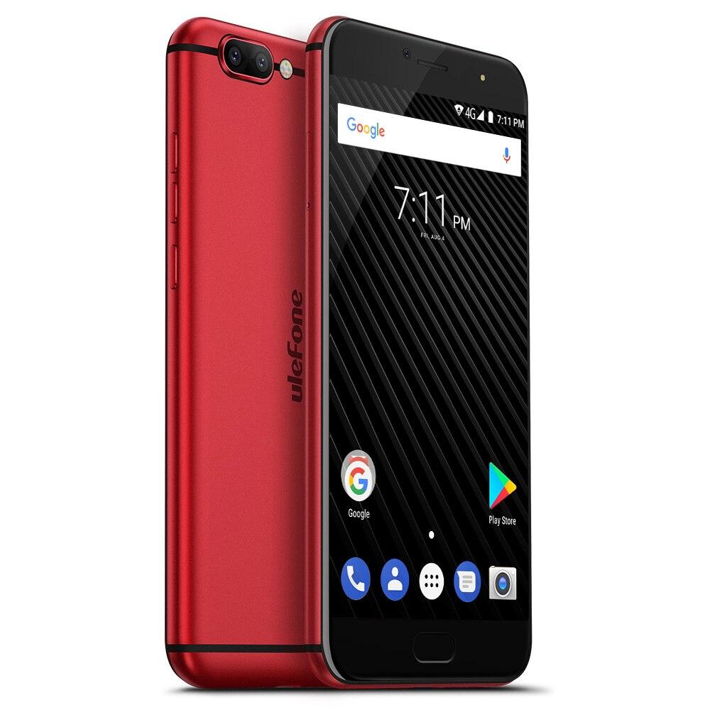 Ulefone T1 Двойная Камера 16MP+5MP Мобильный телефон 5.5 дюймов FHD helio P25 Octa core android 7.0 6 ГБ 64 ГБ Сканер отпечатков пальцев 4G телефон - 3