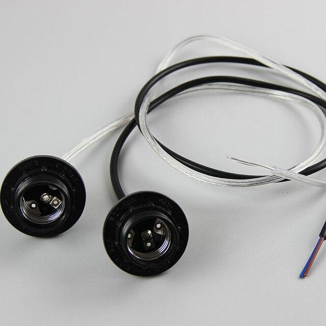 1pcs E27 Bakelite Lampholder, About 1m Cable length lampholder with cord Lamp DIY