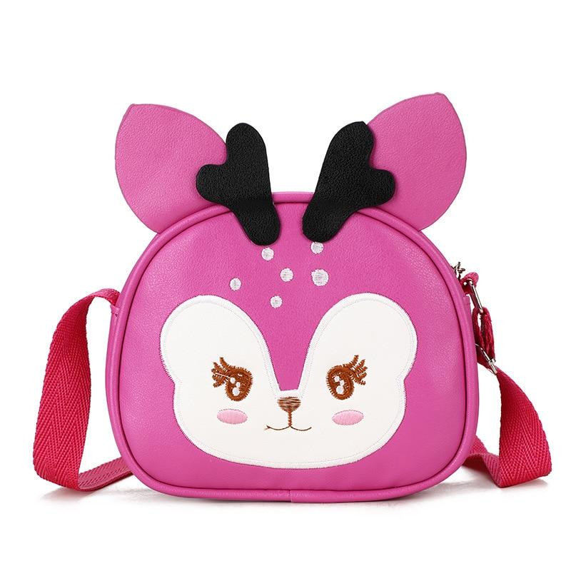 Crossbody-taschen Neue Mode Mädchen Schulter Umhängetasche Kleine Tasche Kindergarten Deer Geldbörse Tasche A243 Moderater Preis