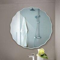 Круглое зеркало в ванную комнату настенный монтаж туалетное зеркало наклейка на стену ванная комната зеркало LO6121055