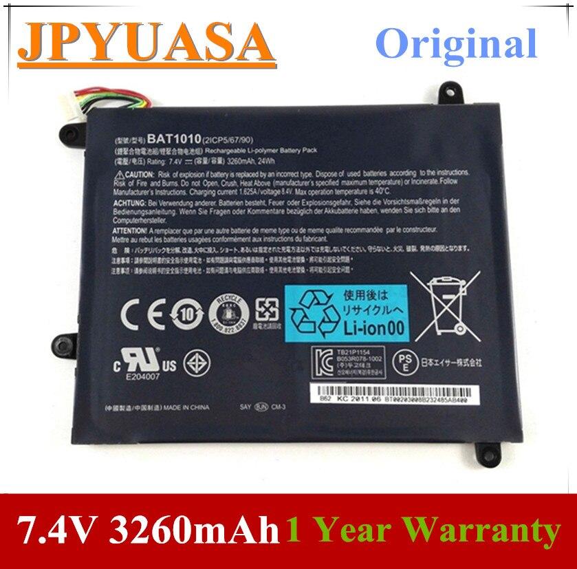 7XINbox 7.4V 3260mAh BAT-1010 Laptop Battery For Acer Iconia Tablet A500 A501 A500-10S32u A500-10S16u BAT1010 BAT 1010 Tablet