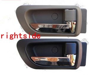 Image 5 - A PAIR BLACK gray Beige INSIDE DOOR HANDLE FOR Great wall haval hover H3 H5 2010 2013 inside Handle car handle door knob