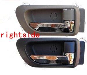 Image 5 - זוג שחור אפור בז בתוך ידית דלת haval קיר רחף H3 H5 2010 2013 בתוך ידית מכונית ידית דלת ידית