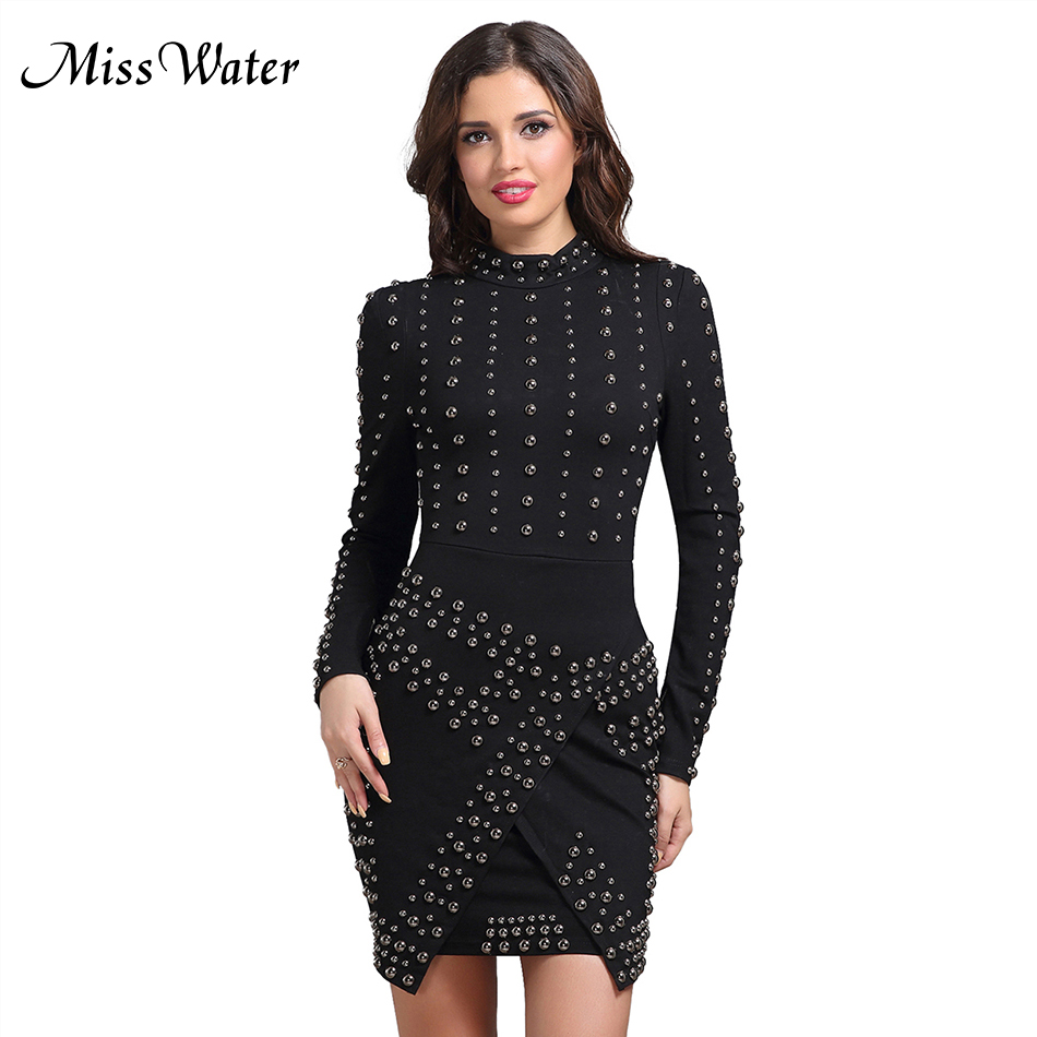 Date Eau Robes Mlle 2019 Noir cou Robe Party Mini Femmes Sexy Solide O Club Fx44Ow