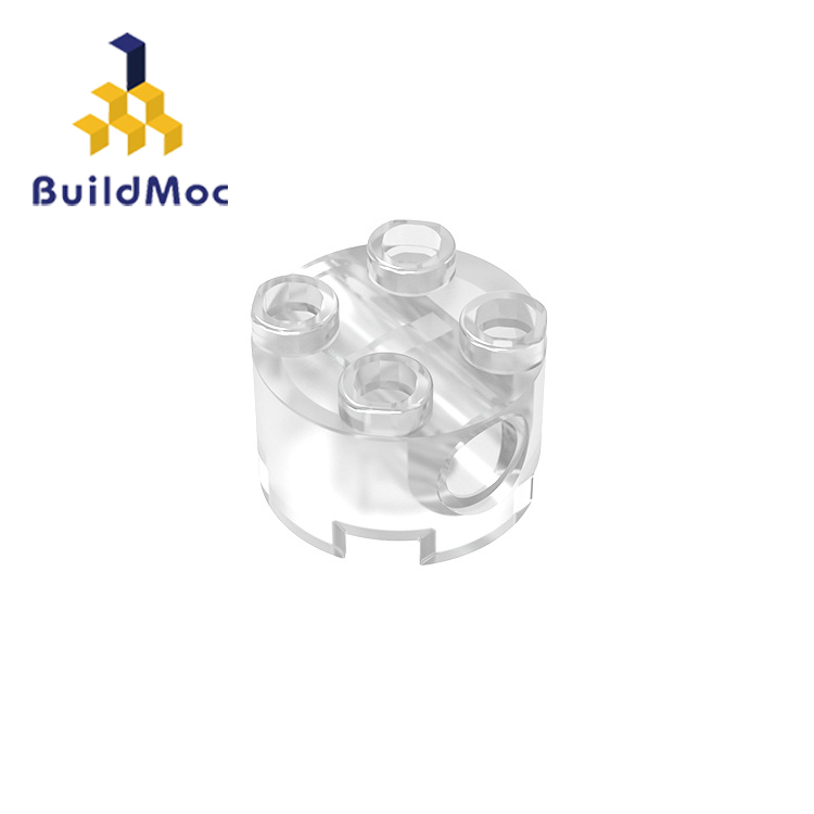 BuildMOC Compatible Assembles Particles  17485 2x2 For Building Blocks Parts DIY LOGO Educational Creative Gift Toys