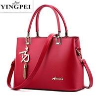 2016 New Designer Women Bags Fashion Vintage PU Leather Handbags High Quatity Casual Shoulder Messenger Crossbody