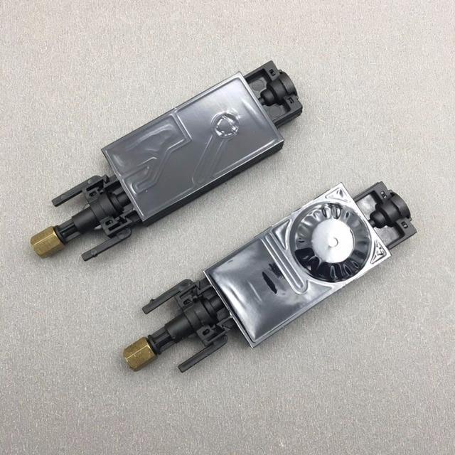 10PCS DX5 UV 잉크 댐퍼 for Mimaki JV33 JV5 CJV30 Galaxy for Epson XP600 에코 솔벤트 플로터 프린터 UV 덤퍼 (커넥터 포함)