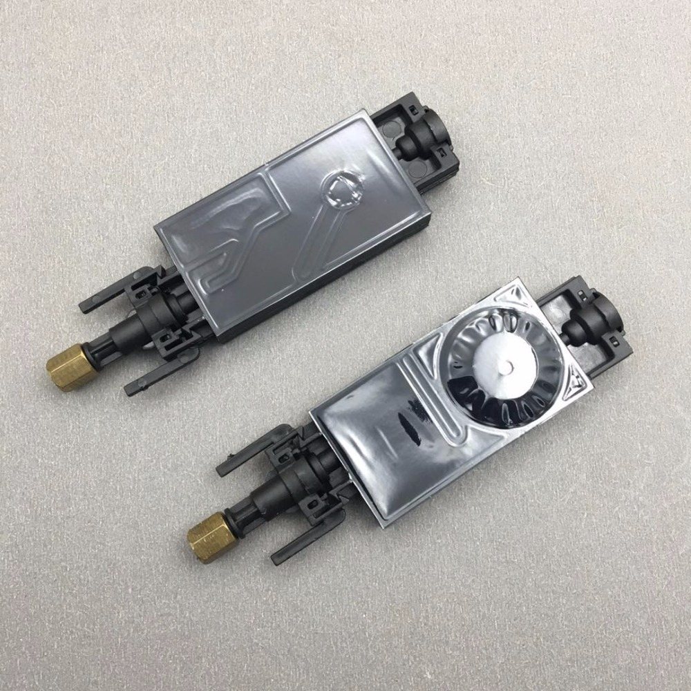 10PCS DX5 UV ink damper for Mimaki JV33 JV5 CJV150 for Epson TX800 XP600 eco solvent plotter printer UV ink dumper wit connector(China)