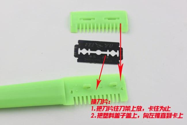 Купить с кэшбэком Dorco High Quality 100pcs Blades Professional Hair Razor Blades Stainless Steel Blades Cutting Blades for Hairdressers ,LZN0018
