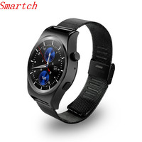 Smartch X10 Bluetooth Smart Watch X10 With LCD HD Full circle Display Smartwatch Sleep Monitoring For Android 4.3 and IOS 7.